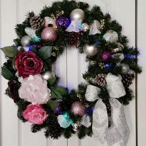 Handmade custom centerpieces and wreaths